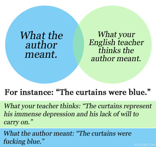 blue curtains joke