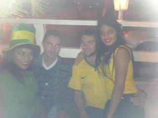 Me & Wesley meeting Paulistas