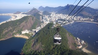 Rio's Sugarloaf Mountain Cable Car