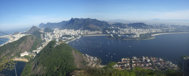 Panoramic View of Rio