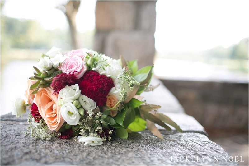 Close up of the beautiful florals from the styled shoot.