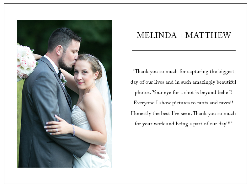 Review by Melinda & Matt - 5 Stars!