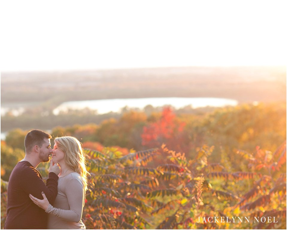 Pere Marquette, Grafton Illinois, Marcie and Josh Engaged, Jackelynn Noel Photography