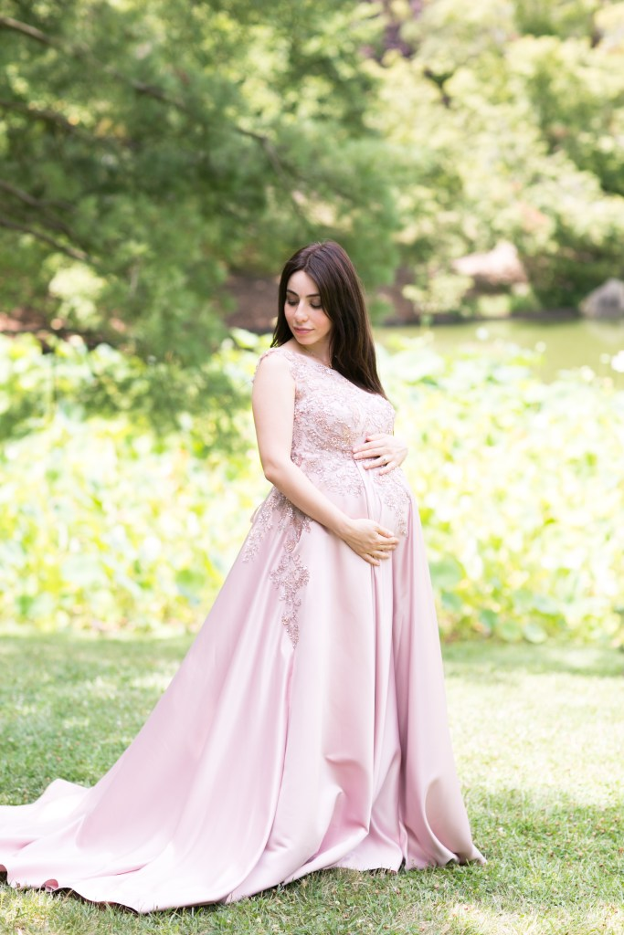 Hasmik & Mark Waiting for baby at the Missouri Botanical Gardens by Jackelynn Noel Photography
