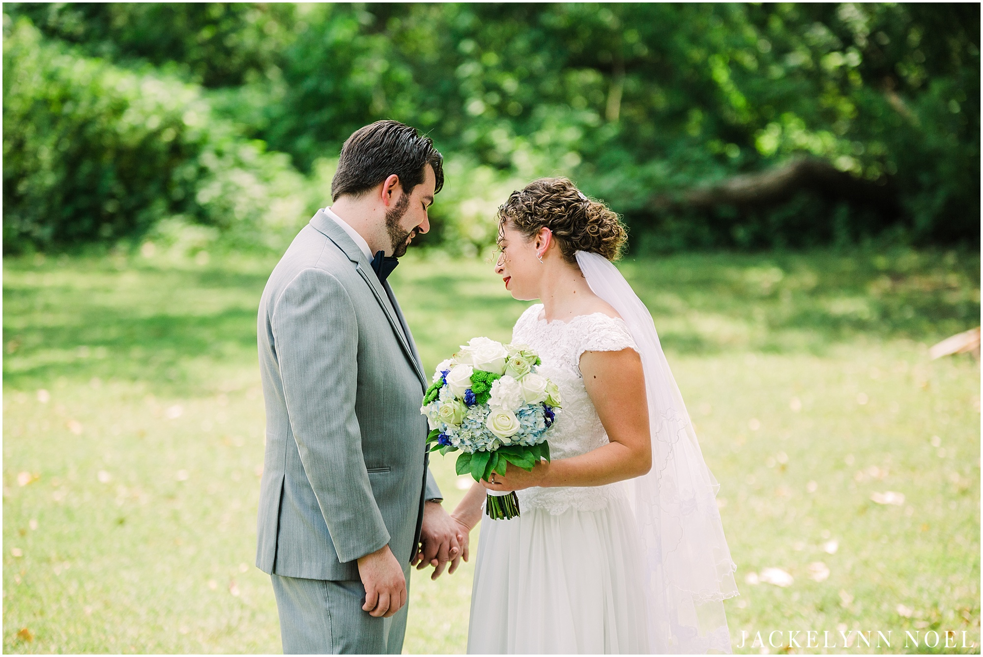 Steph and Jasper Married in St. Charles by Jackelynn Noel Photography