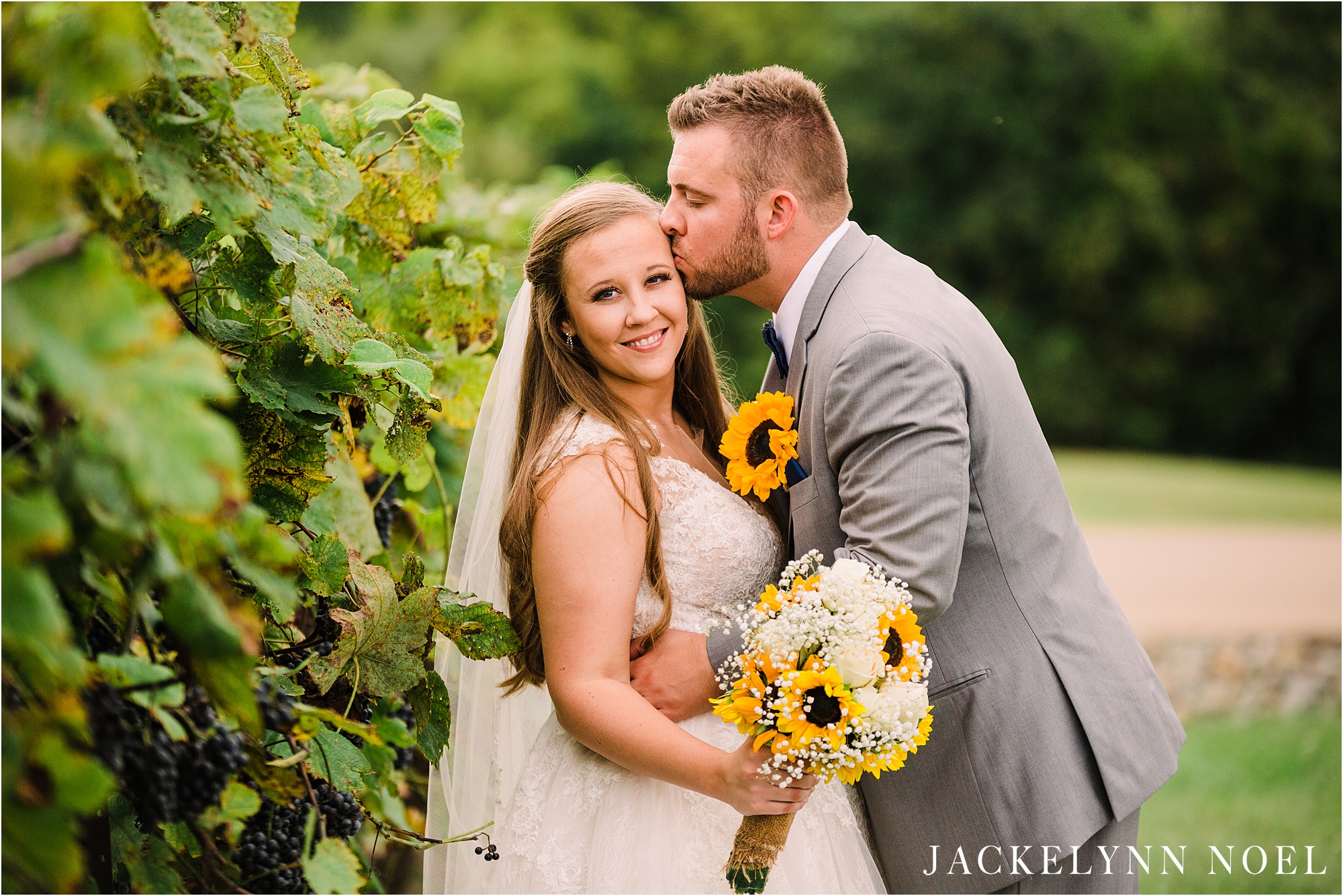Chaumette Winery Wedding by Jackelynn Noel Photography
