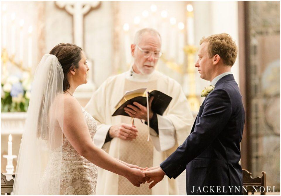 Hannah and Liam's Wedding at St John's Episcopal Church by Jackelynn Noel Photography