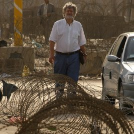 John Fisher Burns, senior New York Times correspondent, in Baghdad in 2003.