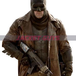 batman vs superman ben affleck leather coat on sale