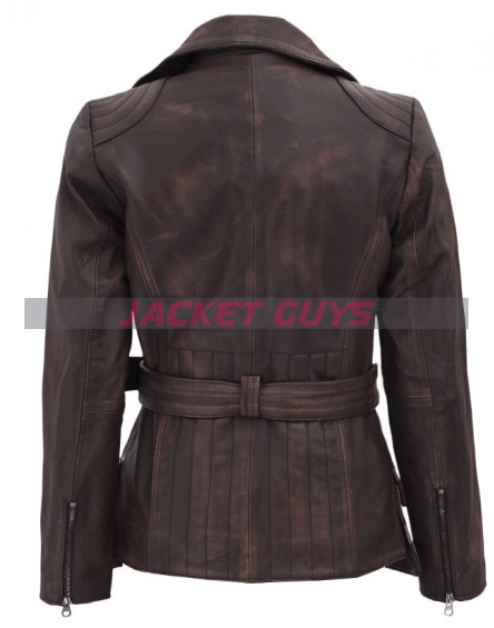 for sale distressed brown jacket