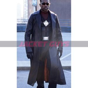 wesley snipes blade leather coat buy now