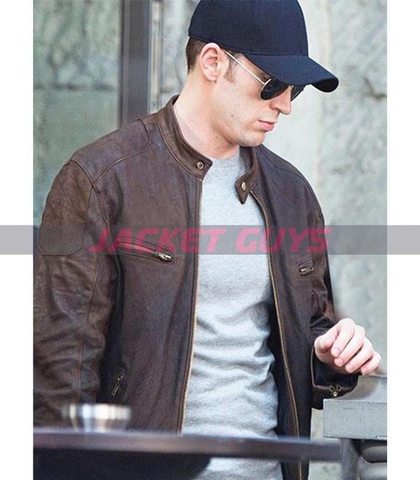 shop now captain america leather jacket