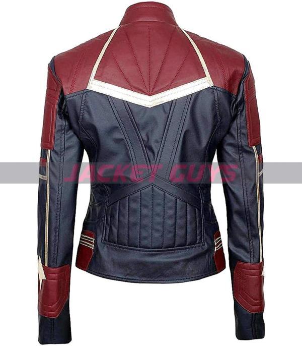 shop now women captain carol danvers leather jacket