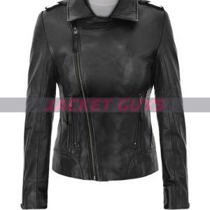 on sale wanderlust leather jacket by jennifer anniston