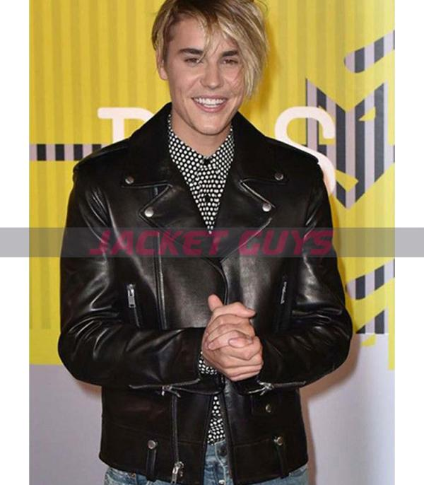 buy now justin bieber leather jacket