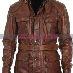 buy now men's belt leather biker jacket