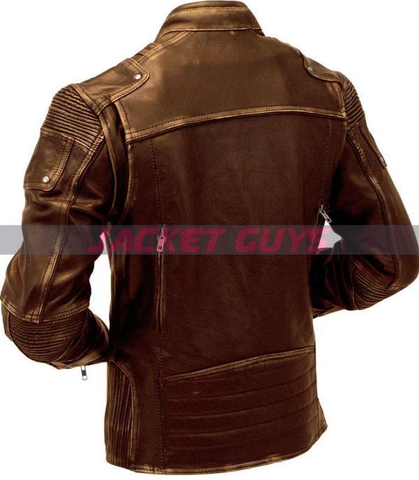 men cafe racer brown leather jacket buy now