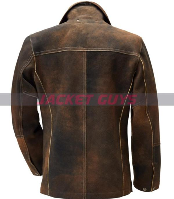 men's distress tanned leather jacket get now
