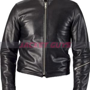 buy now slim fit summer leather jacket