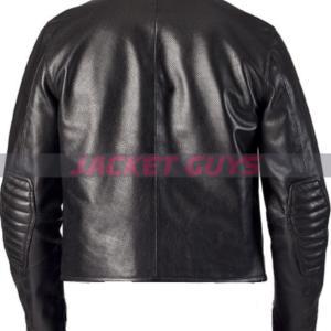 shop now slim fit summer leather jacket
