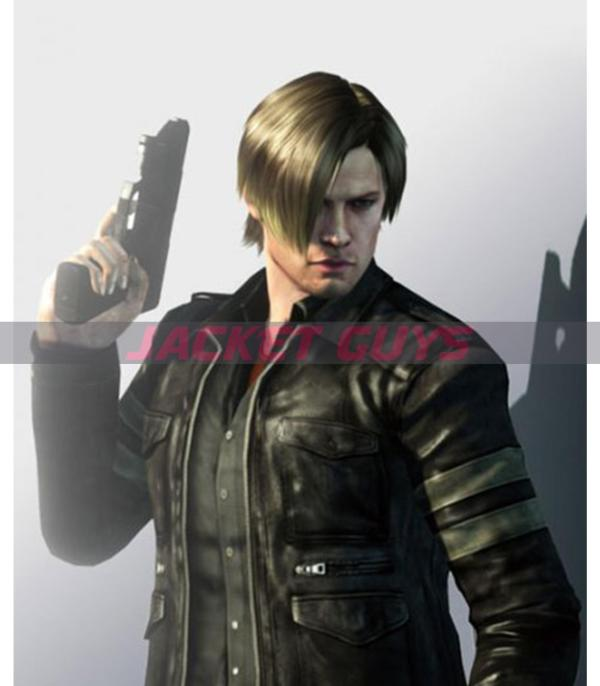 selling get now resident evil 6 leather jacket
