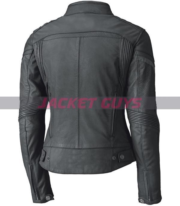 on sale women biker jacket in green