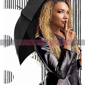allison umbrella academy leather jacket on sale