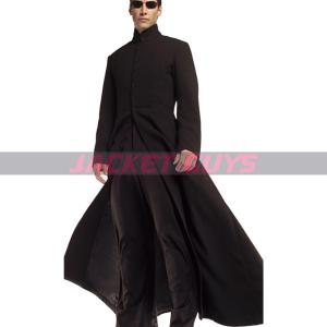 on discount matrix reloaded leather coat