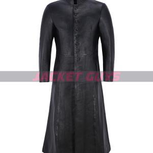 matrix reloaded leather coat on sale