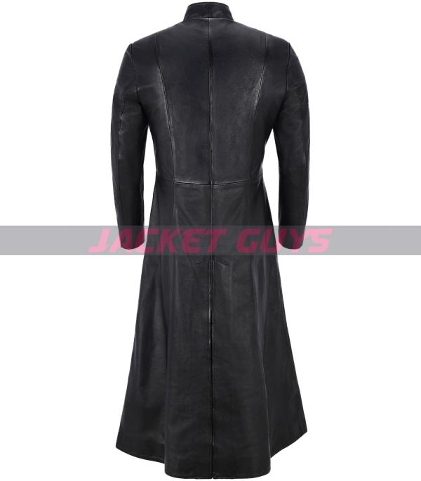 shop now matrix reloaded leather coat