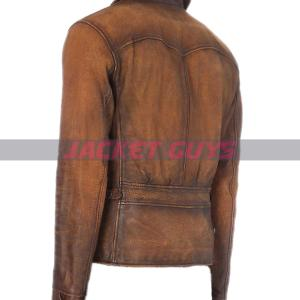 buy now mens american style distress leather jacket