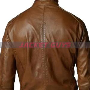 purchase now mens brown bomber leather jacket buy now