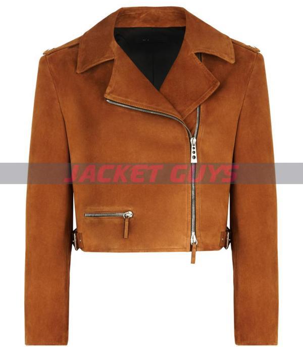 ladies suede leather jacket buy now