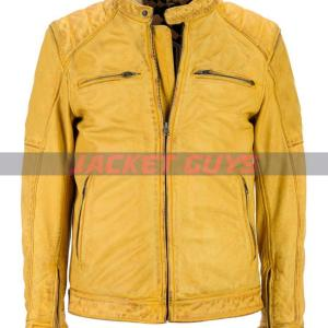 on discount men moto racer leather jacket