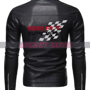 men black racer leather jacket purchase now