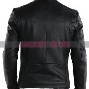 buy now mens black leather jacket