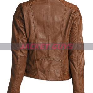 dark brown leather jacket buy now