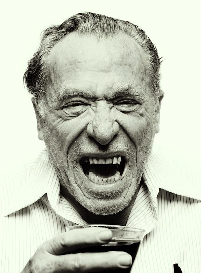 Bukowski Yelling