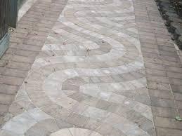 designed hardscaped walkway Virginia Beach