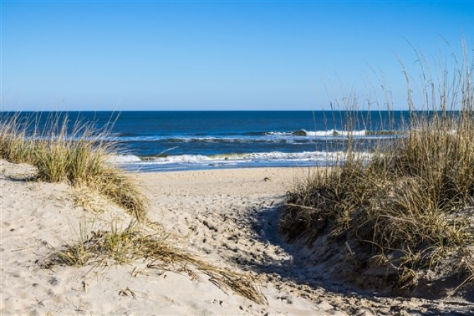 Sandbridge Beach in Virginia Beach