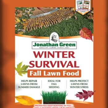 winter survival, fertilizer, lawn food, winter, jonathan green