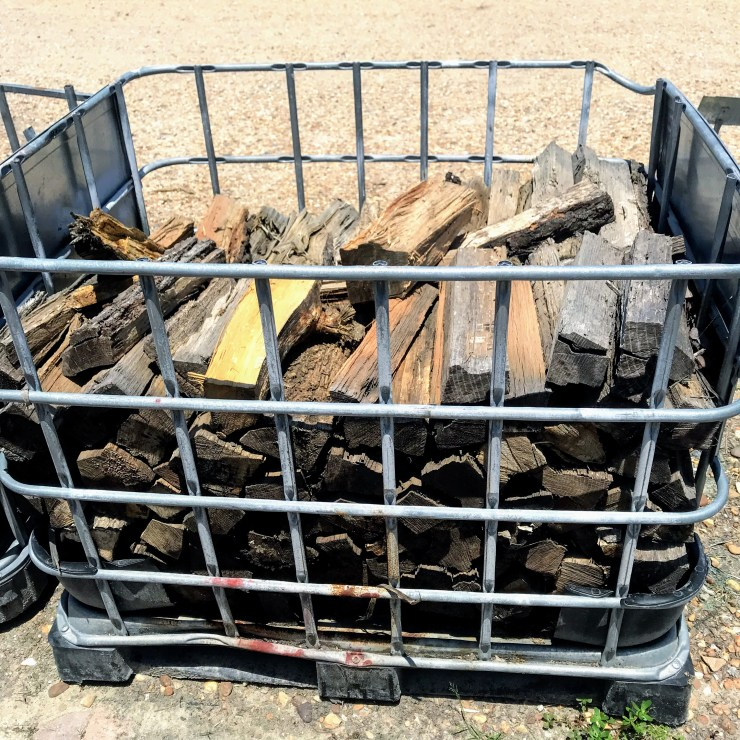 basket of firewood