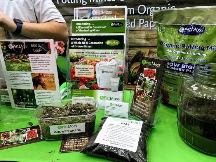 PittMoss organic potting soil