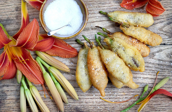Edible Flowers- Day Lily Fritters