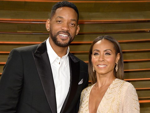 WEST HOLLYWOOD, CA - MARCH 02: Actors/musicians Will Smith (L) and Jada Pinkett Smith attends the 2014 Vanity Fair Oscar Party hosted by Graydon Carter on March 2, 2014 in West Hollywood, California. (Photo by Pascal Le Segretain/Getty Images)