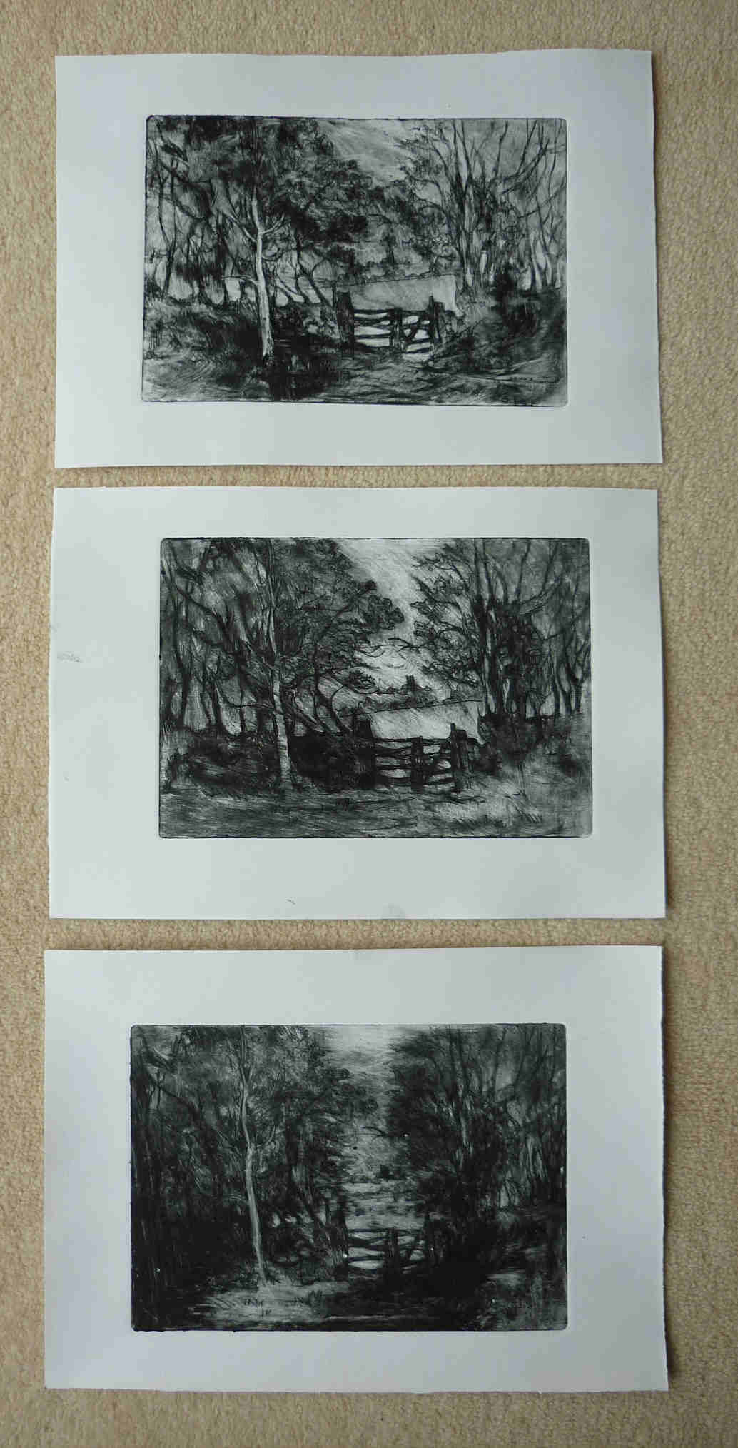 Would you like to come up and see my etchings ?