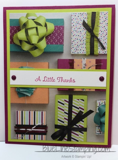 Stampin' Up! One Big Meaning, Picture Perfect Party, Jackie Beers,