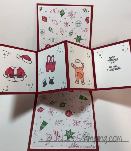 Stampin' Up! Santas suit Jackie Beers, stampinup santas suit, jackiebeers
