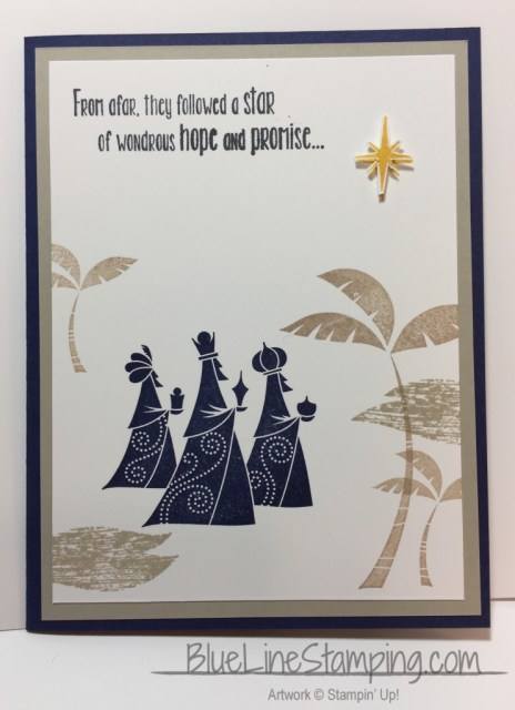 Stampin' Up! Wise Men From Afar, stampinup wise men from afar, Jackie Beers