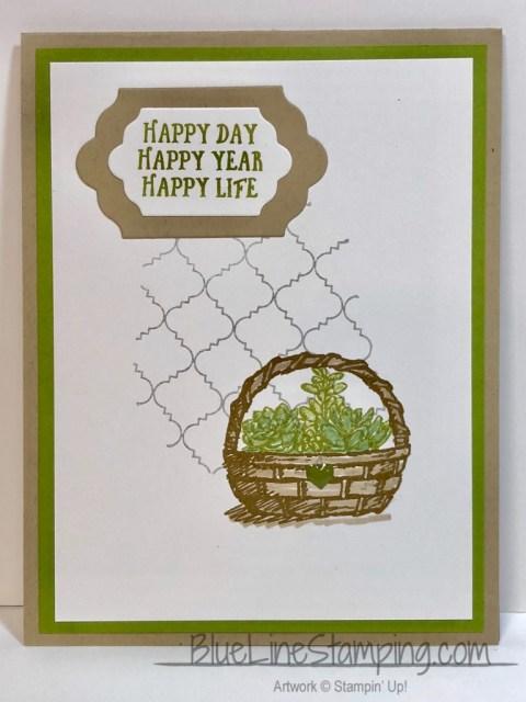 Stampin' Up!, Basket of Wishes, Jackie Beers, stampinup, jackiebeers